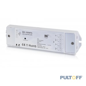 SR-1009FA receiver 4 kanalen x 5A RF , Sunricher