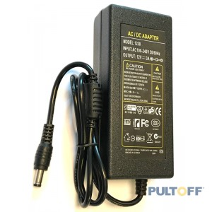 12V 3A, 36W Stroomadapter AC/DC IP20 Plastic
